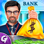 My Virtual Bank: Manager ATM & Cashier Icon