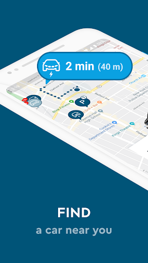 SHARE NOW - formerly car2go and DriveNow - screenshot