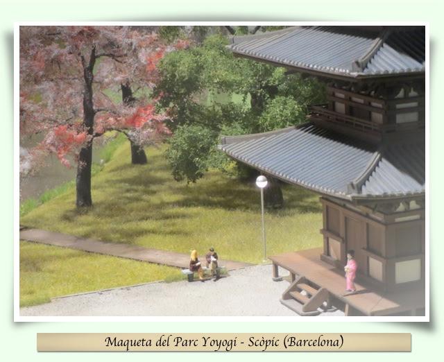 Maqueta del Parc Yoyogi