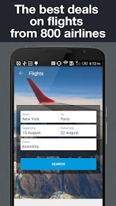Hotels and Flights screenshot 1