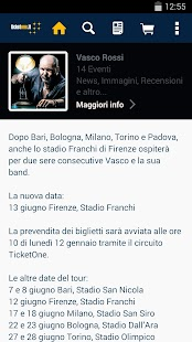 TicketOne.it - screenshot thumbnail