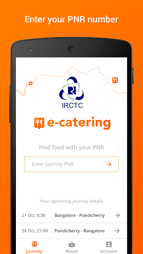IRCTC eCatering - Food on Track 2.2.0 screenshots 1