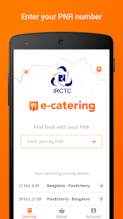 IRCTC Catering - Food on Track- screenshot thumbnail