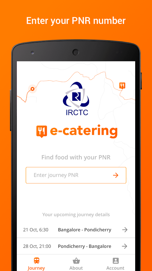 IRCTC Catering - Food on Track- screenshot