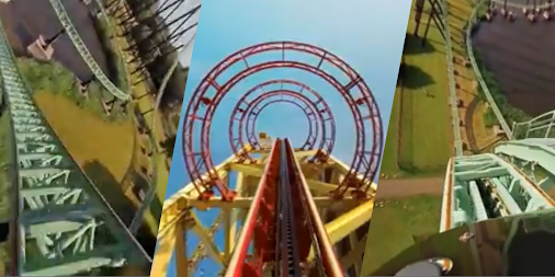 VR Thrills: Roller Coaster 360 (Google Cardboard) APK screenshot thumbnail 4