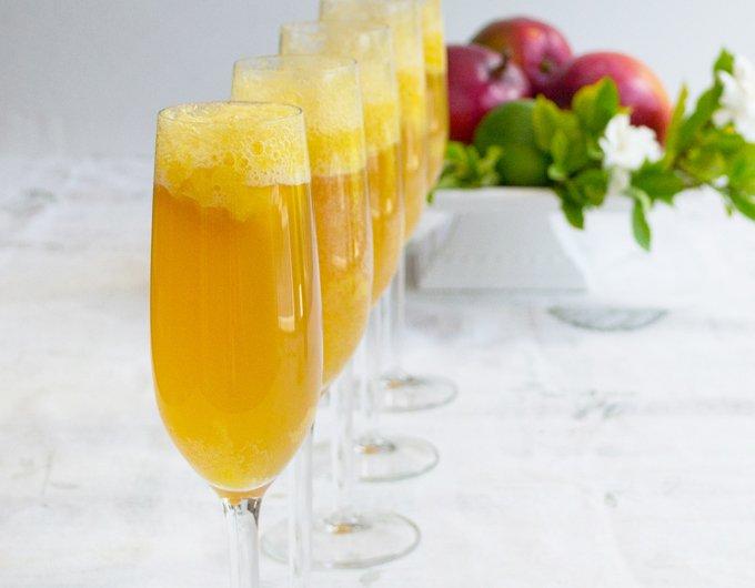 Mango-Lime Bellini Recipe