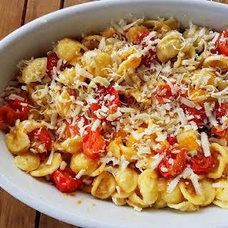 Orecchiette Pasta With Roasted Tomatoes (con Pomodori Al Forno).