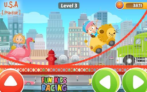 Amusant Jeu de course pour enfant  captures d'écran 1