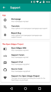 Open GApps- screenshot thumbnail