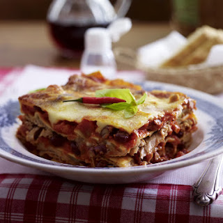 Tuna and Bean Arrabiata Lasagne.