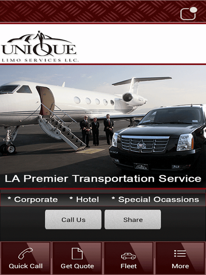 Unique Limo Services- screenshot