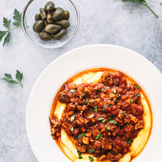 Slow Cooked Lamb Ragu.