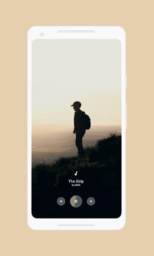 Mini Music player for kwgt screenshots 3