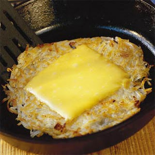 Smothered-Covered Hash Browns