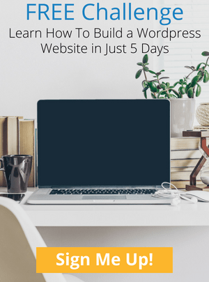 Join The Free 5 Day Website Challenge - Learn How To Build A WordPress Website in Just 5 Days