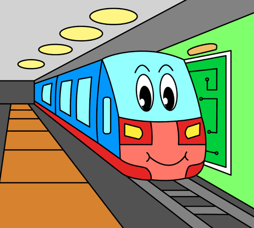 Coloring pages for children : transport  screenshots 9