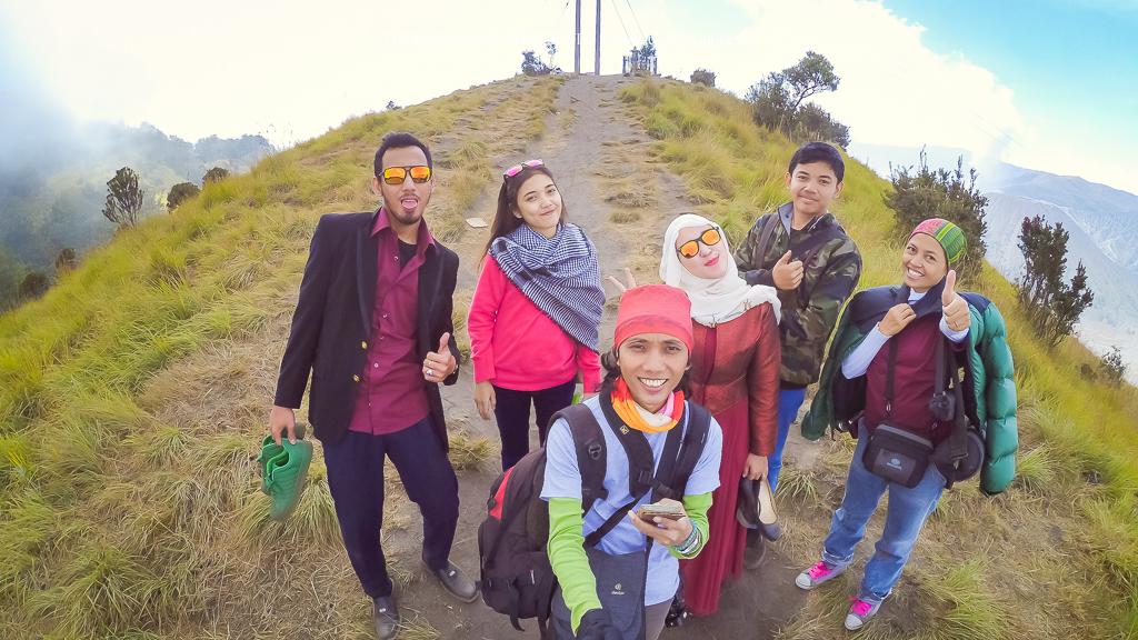 hasil kamera xiaomi yi di gunung bromo indonesia