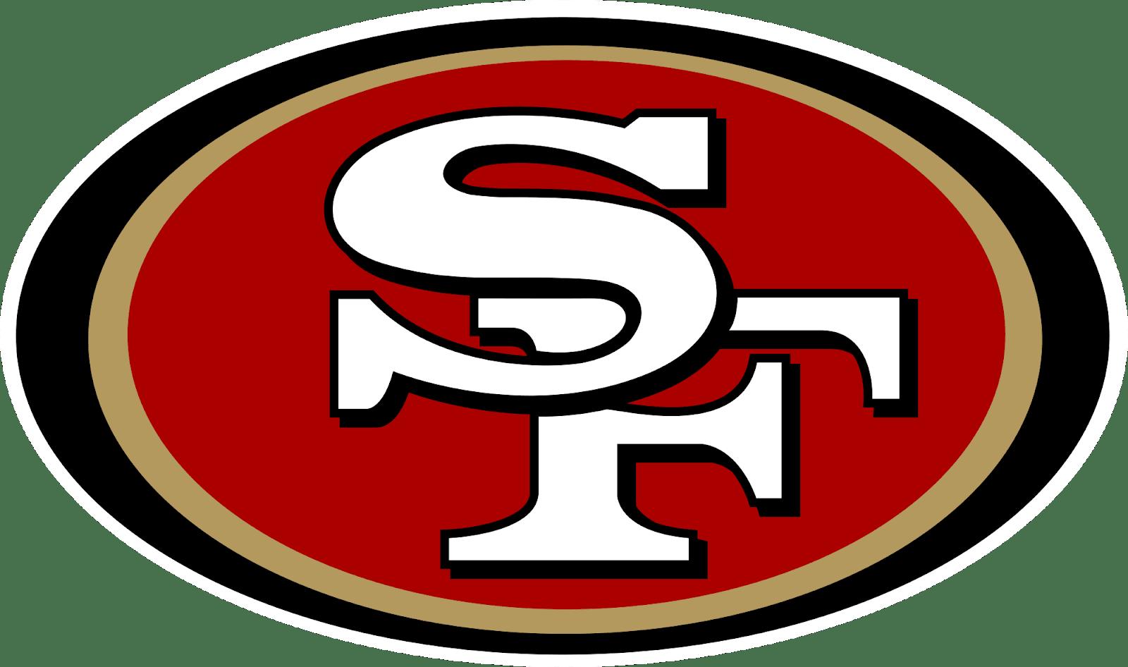 Image result for san francisco 49ers, transparent, logo