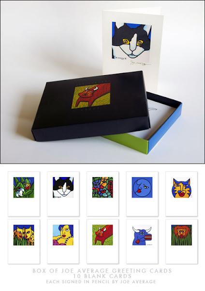 <p> JOE AVERAGE GREETING CARD SET</p>