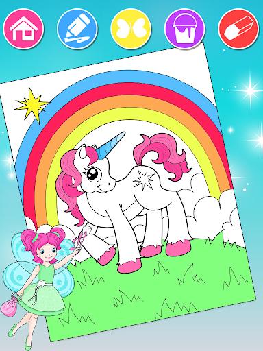 Princess Coloring Book 2 android2mod screenshots 7