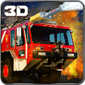 911 Rescue Fire Truck 3D Sim icon