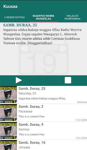 Oromo Bible - Macaafa Qulqulluu app (apk) free download for Android