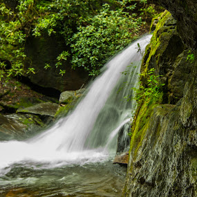 Water of Life by James Woodward - Nature Up Close Water ( georgia, rock formation, waterfall, cascade, water,  )
