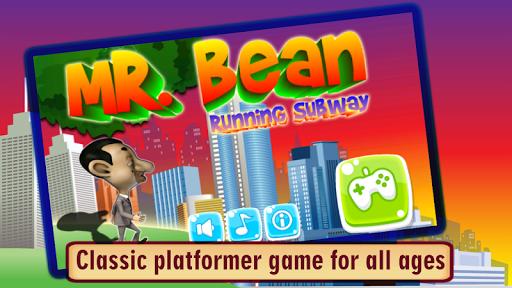 MR Bean Running Subway
