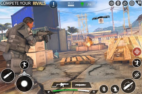 Immortal Squad Shooting Games: Free Gun Games 2020 Screenshot
