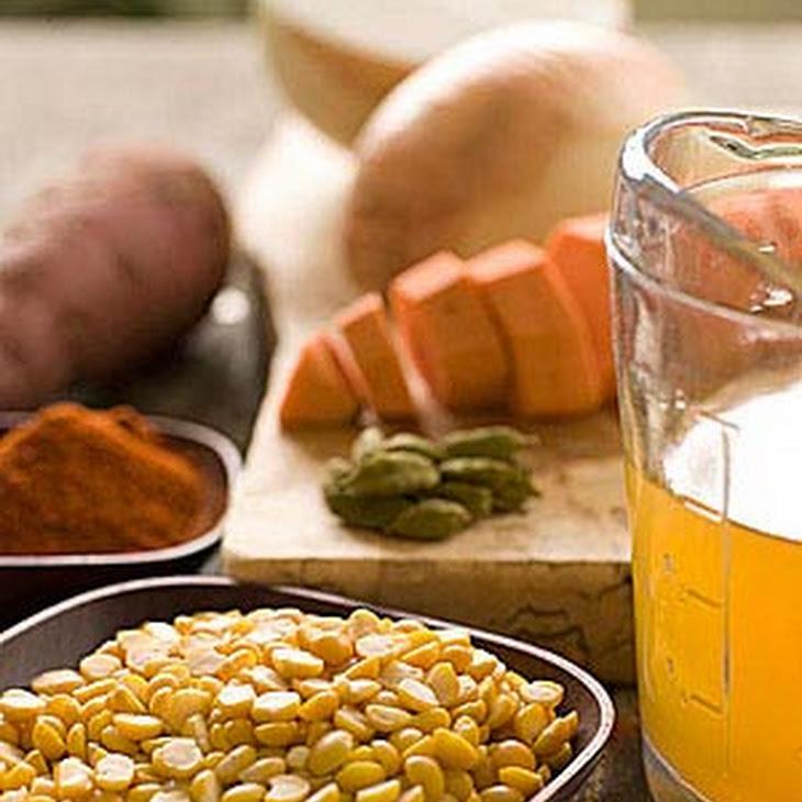 Split Pea and Sweet Potato Soup Recipe | Yummly