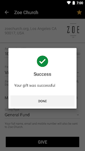Pushpay- screenshot thumbnail