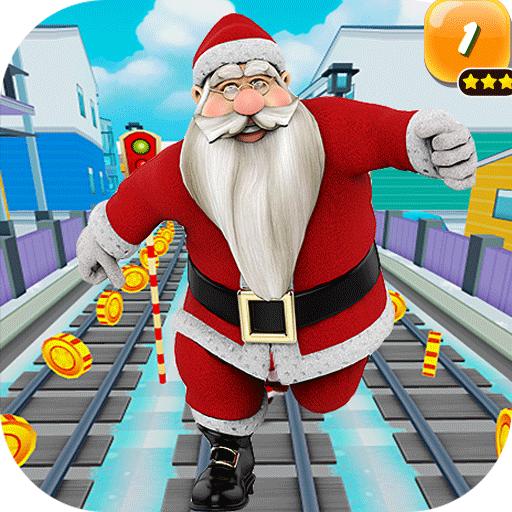 Subway Old Santa Claus Android APK Download Free By Studiokhibra