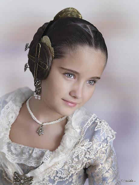 Carla Sancho Carbonero. Corte de Honor Infantil 2019. Mestre Gozalvo - Comte d´Altea