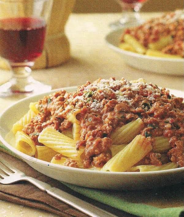 Lightened Bolognese Recipe