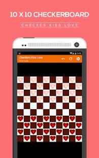Checkers kiss love screenshot 7