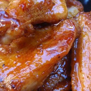 Detroit Hot Honey Wings.