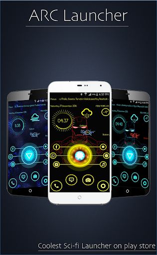ARC Launcher Free app (apk) free download for Android/PC/Windows screenshot