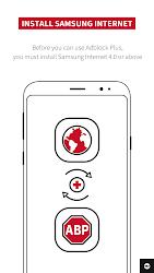 Adblock Plus for Samsung Internet - Browse safe.