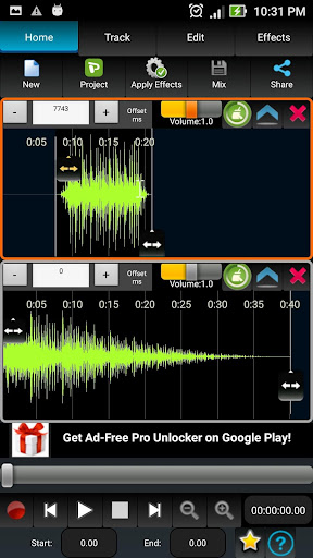 AudioDroid : Audio Mix Studio 2.8.3 screenshots 2