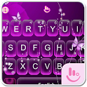 Purple Butterfly Keyboard Theme icon