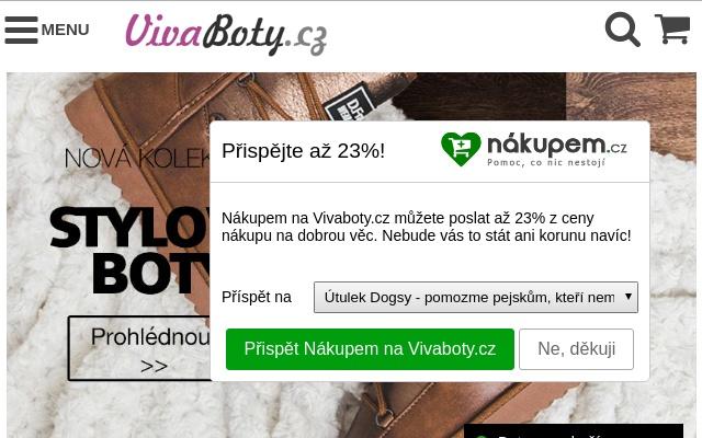 Nakupem.cz - Podpoř dobrou věc