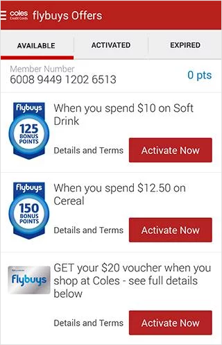 Coles shop online app