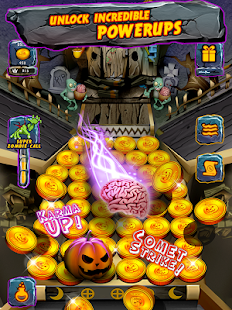 Zombie Ghosts Coin Party Dozer- screenshot thumbnail