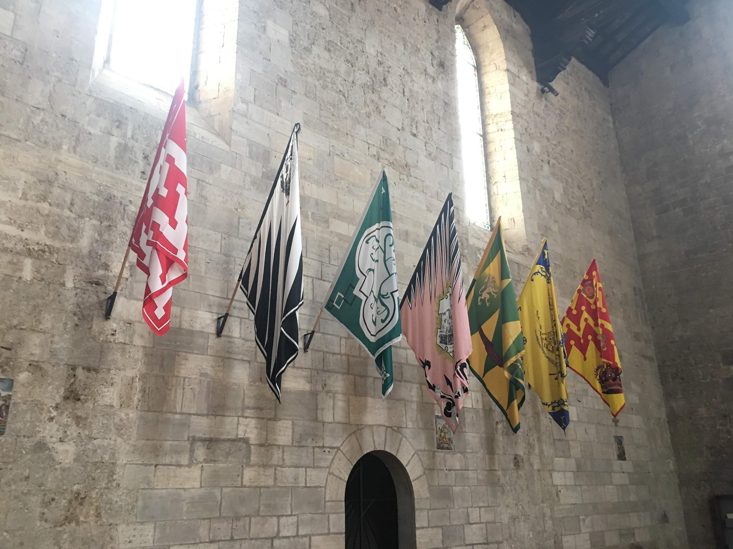 Asciano, interieur Collegiata di Sant'Agata (Asciano)
