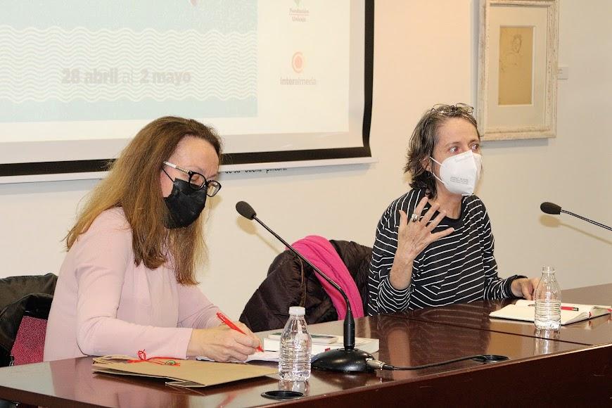 La subdirectora de La Voz y la escritora madrileña.