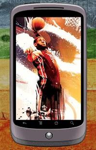 LeBron James Wallpaper - náhled