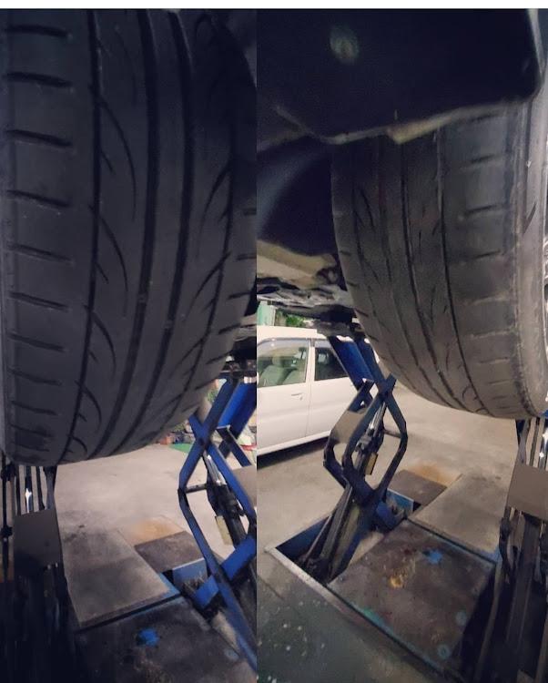 ノア AZR60Gのスマートビューone,タイヤ,タイヤ交換時期,来月車検,秋の気配に関するカスタム&メンテナンスの投稿画像2枚目