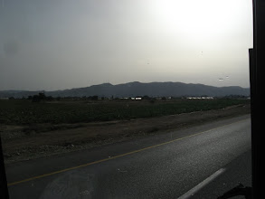 Photo: Highway 90 bypassing Jericho from the east…כביש 90 - עוקפים את יריחו ממזרח