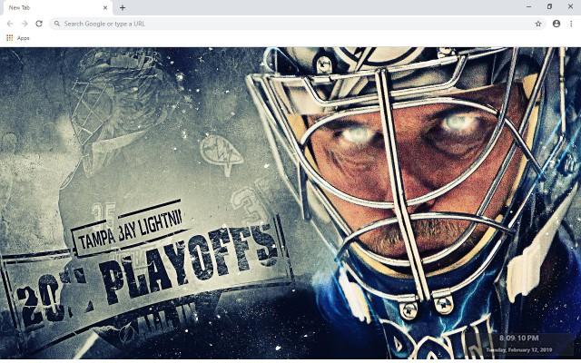 NHL Tampa Bay Lightning New Tab Theme