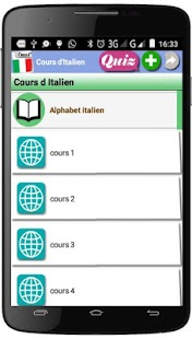 Cours d'Italien - náhled
